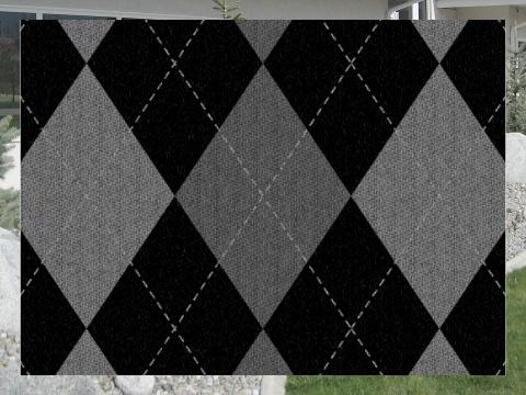 Gray Argyle Pattern