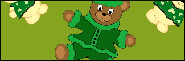 St Pattys Day Bears Image