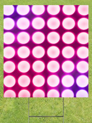 Pink Concert Lights